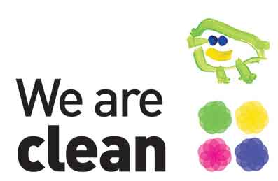 We are clean